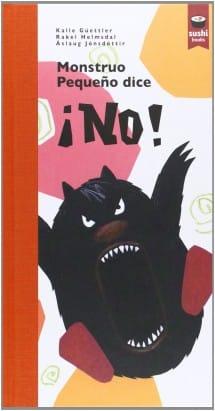 Monstruo pequeño dice ¡NO! (portada)