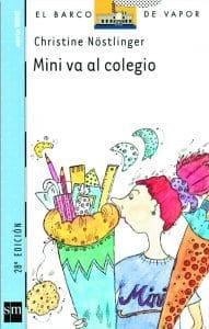 Mini va al colegio (portada)