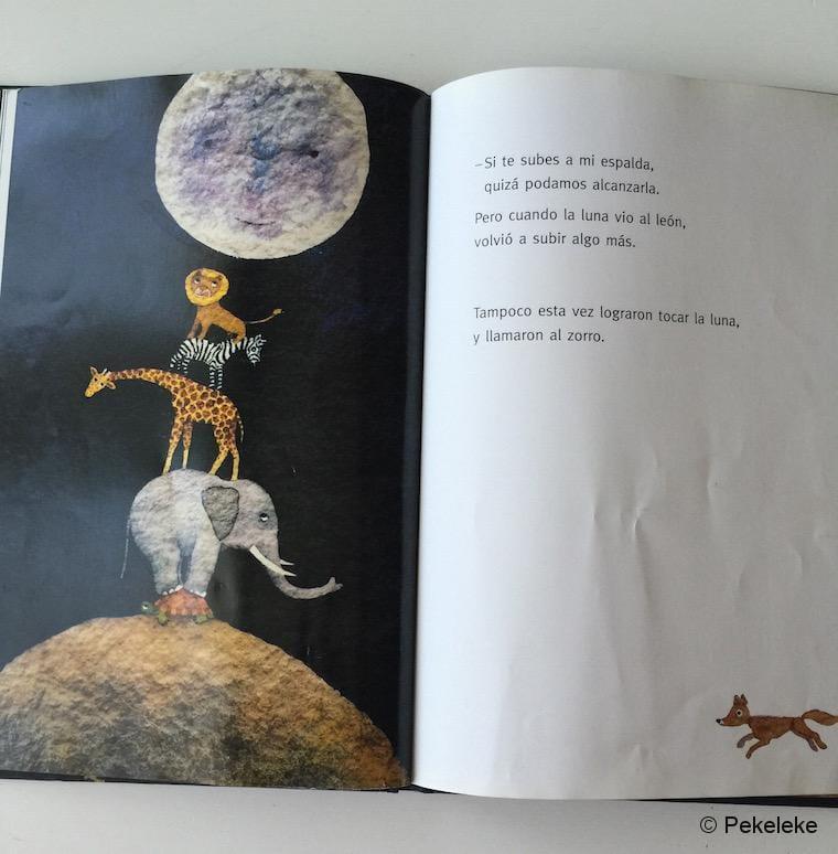 ¿A Qué Sabe la Luna?, de Michael Grejniec (interior)