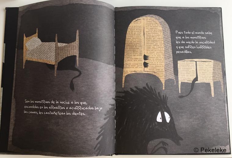 A Todos los Monstruos les da Miedo la Oscuridad (interior)