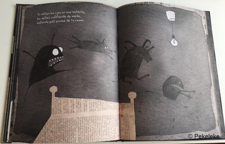 A Todos los Monstruos les da Miedo la Oscuridad, de Michael Escoffier y Kris di Giacomo