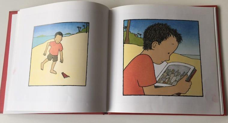 El Libro Rojo, de Barbara Lehman (interior)