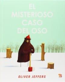 El Misterioso Caso del Oso, Oliver Jeffers (portada)