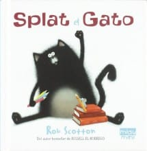 Splat el Gato, Rob Scotton (portada)