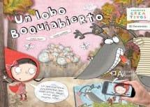 Un Lobo Boquiabierto (portada)
