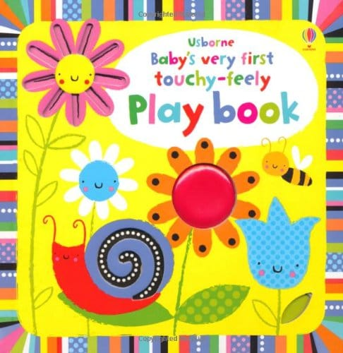 Urborne Baby's very first touch and feel play book