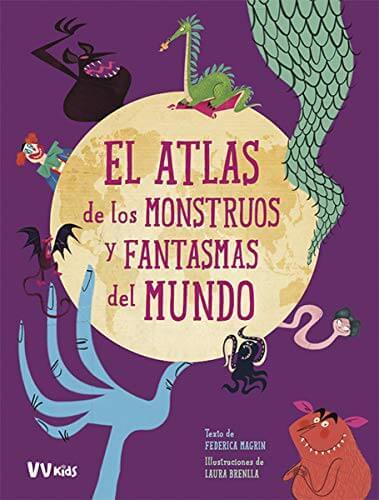 El atlas de los monstruos y fantasmas del mundo (portada)