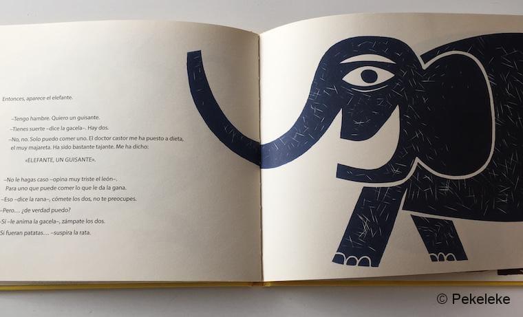 Elefante, un Guisante (interior_2)