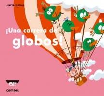 ¡Una carrera de globos! (portada)