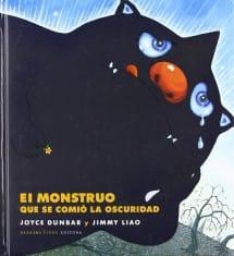 El monstruo que se comió la oscuridad (portada)