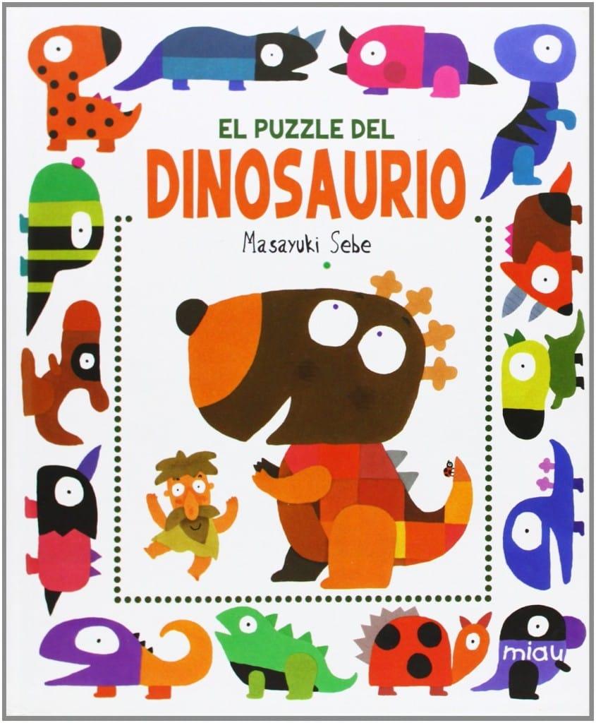 El puzzle del dinosaurio (portada)