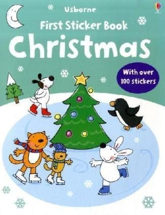 First Sticker Book Christimas (portada)