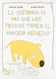 La historia de por qué los perros tienen el hocico húmedo (portada)