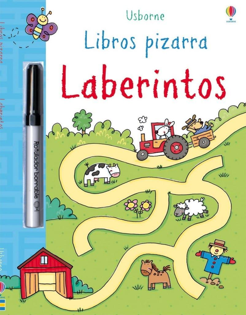 Libros de pizarra - Laberintos- Usborne