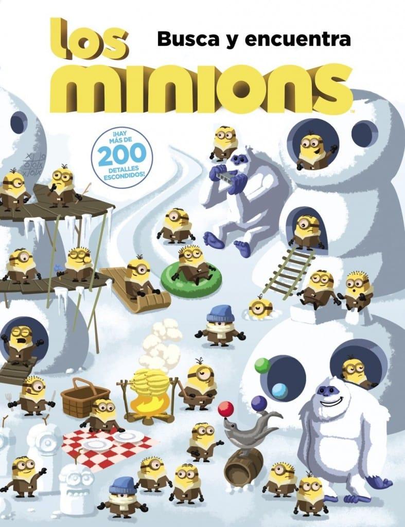 Los Minions - Busca y Encuentra (portada)