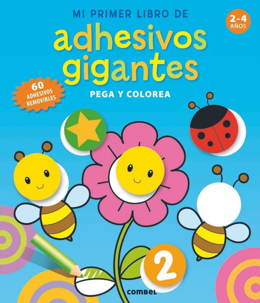 Mi Primer Libro de Adhesivos Gigantes (portada)