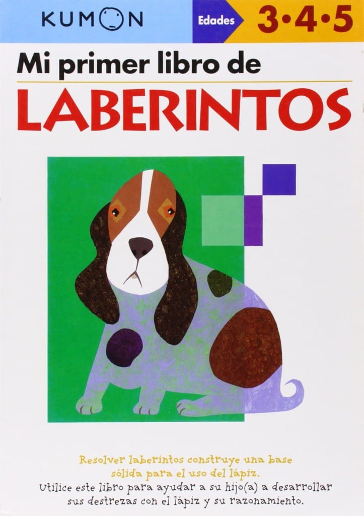 Mi Primer Libro de Laberintos - Kumon (portada)