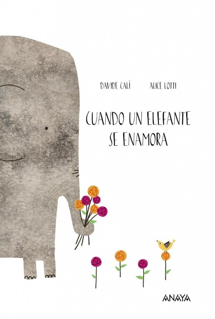 Cuando un Elefante se Enamora (portada)