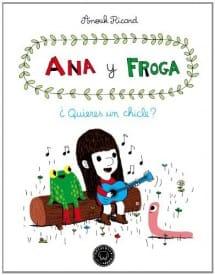 Ana y Froga - ¿Quieres un chicle? (portada)