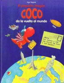 El Pequeño Dragón Coco da la vuelta al mundo (portada)