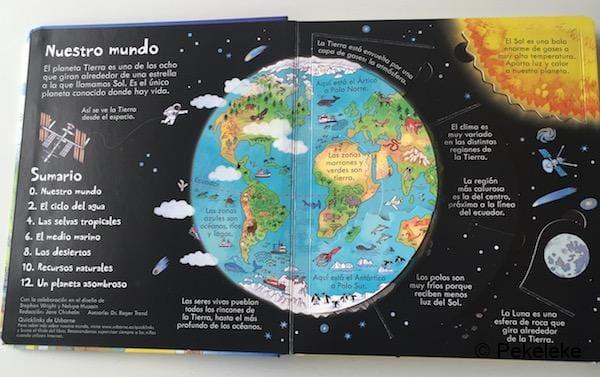¡Mira debajo! Nuestro mundo (interior)