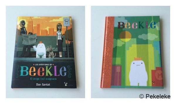 Las aventuras de Beekle (portadas)