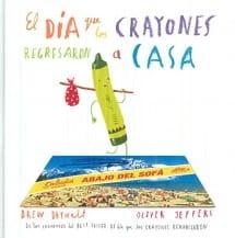 El día que los crayones regresaron a casa (portada)