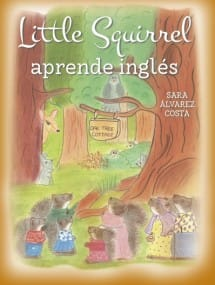 Little Squirrel Aprende Inglés (portada)