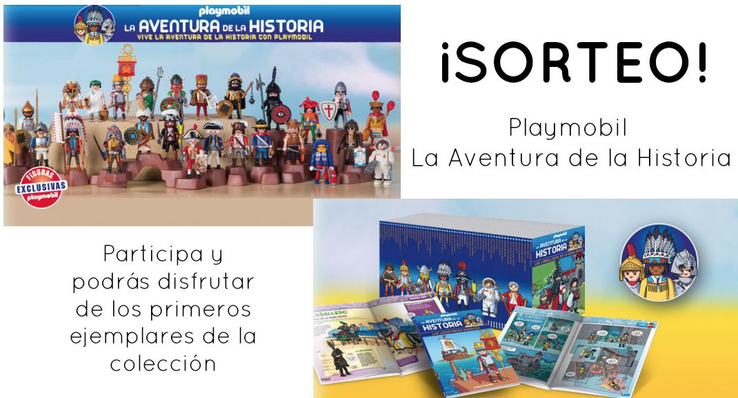 Sorteo Playmobil - La aventura de la Historia
