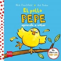 El Pollo Pepe aprende a volar (portada)