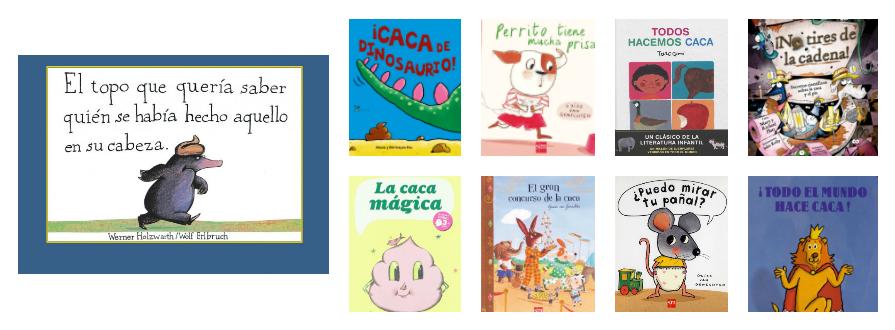 10 libros infantiles que hablan de cacas