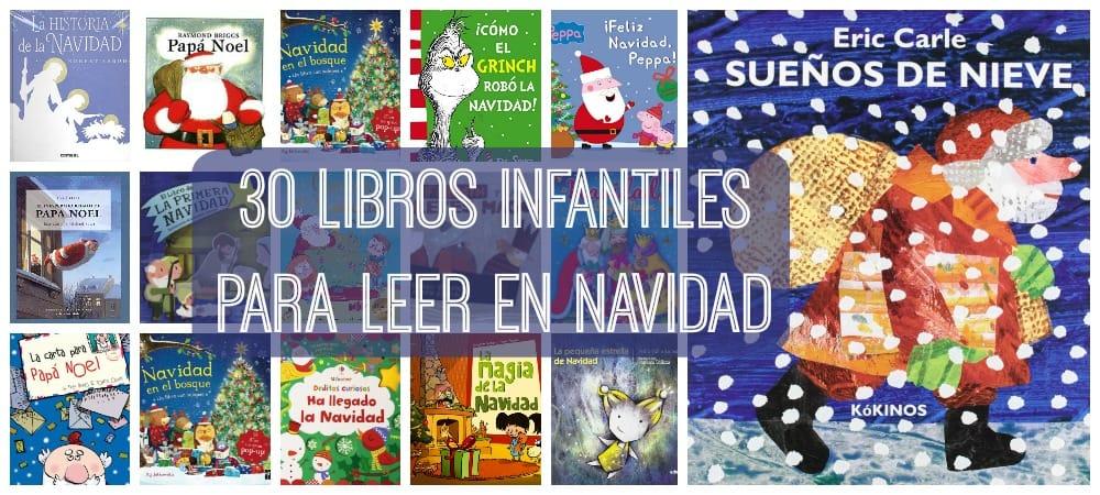 30 libros infantiles para leer en Navidad