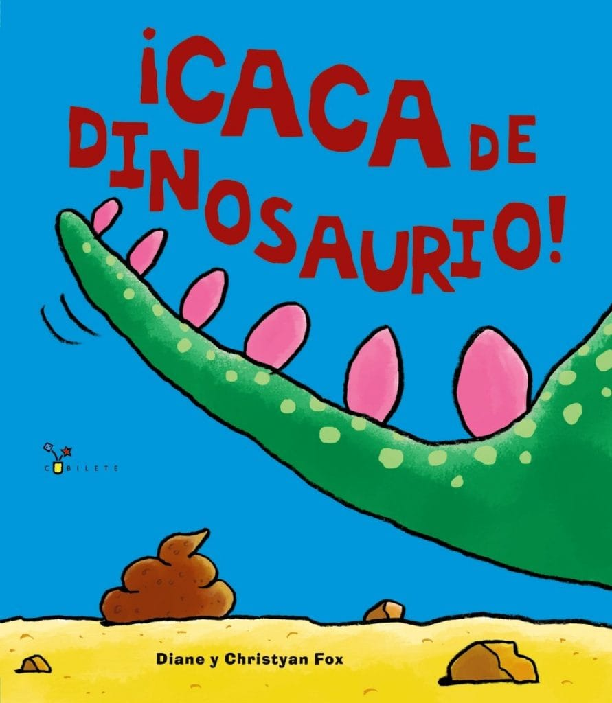 ¡Caca de dinosaurio!