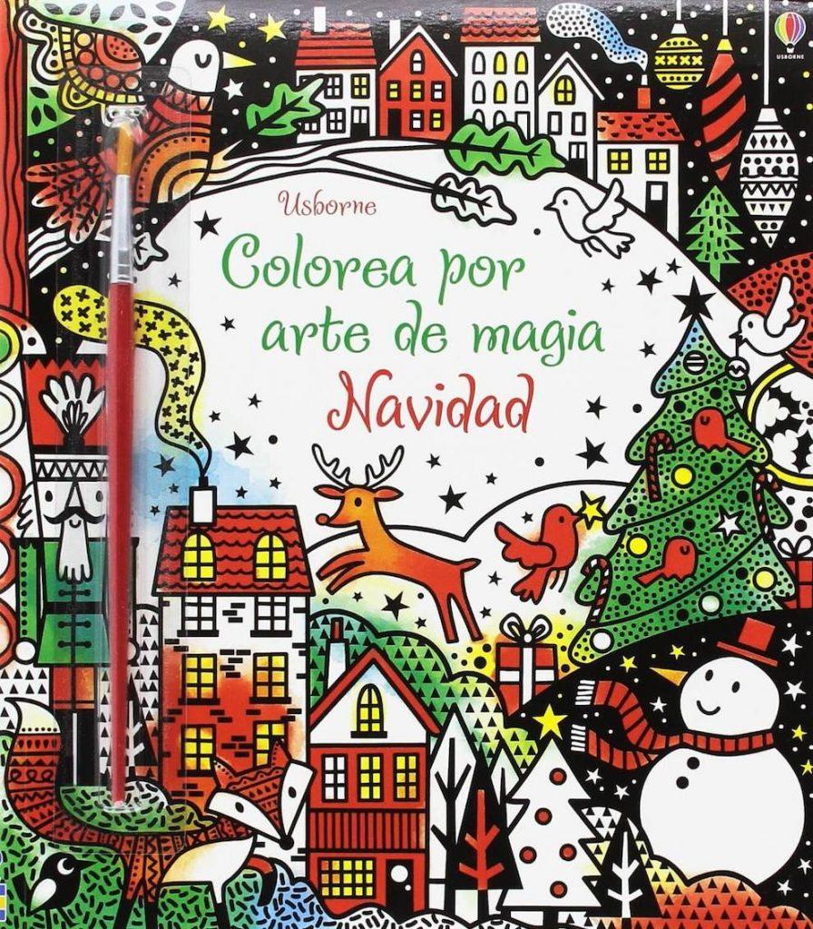 Colorea por arte de magia Navidad (portada)
