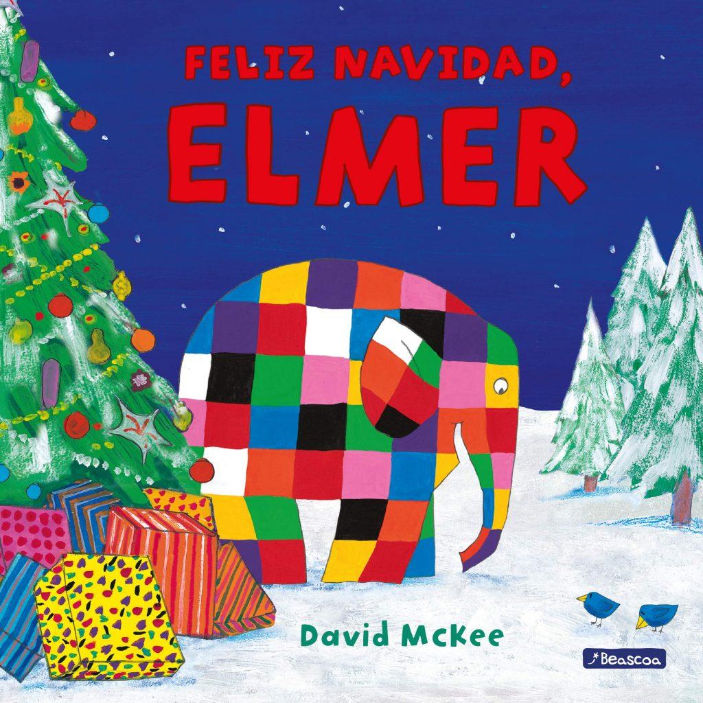 Feliz Navidad, Elmer (portada)