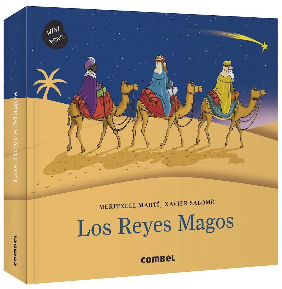 Los Reyes Magos - pop-up de Combel (portada)