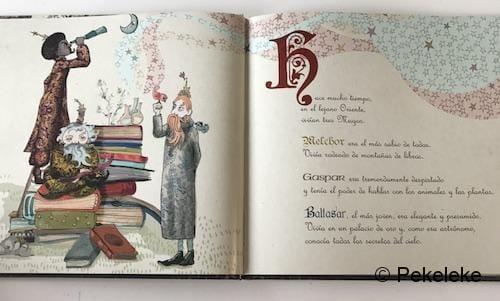 Melchor, Gaspar, Baltasar y el laboratorio de sueños (1)