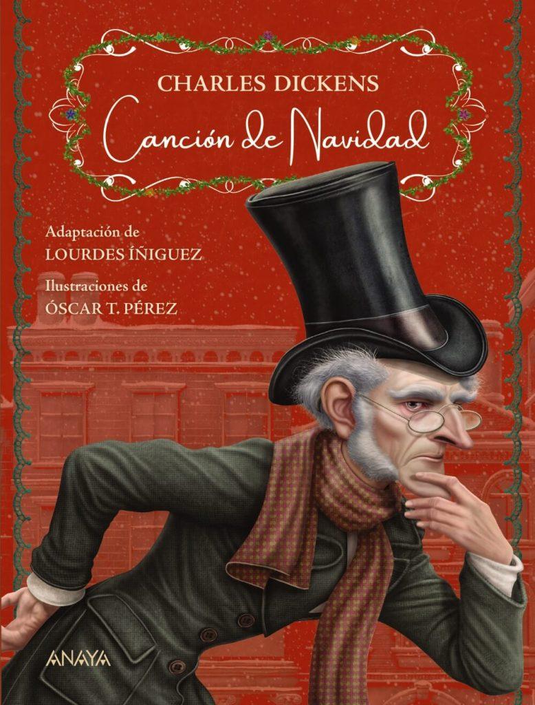 Canción de Navidad, Dickens - Anaya (portada)