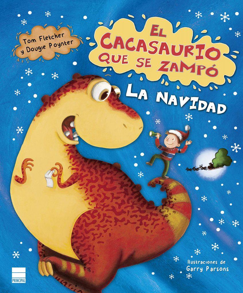 El cacasaurio que se zampó la Navidad (portada)