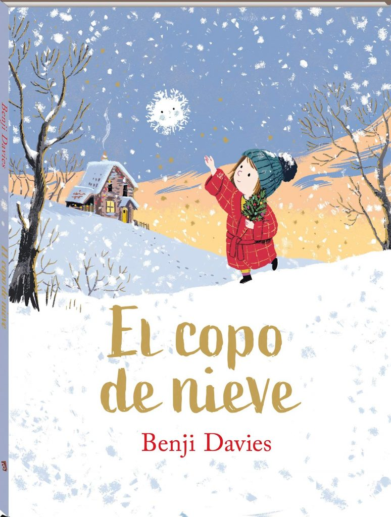 El copo de nieve (portada)