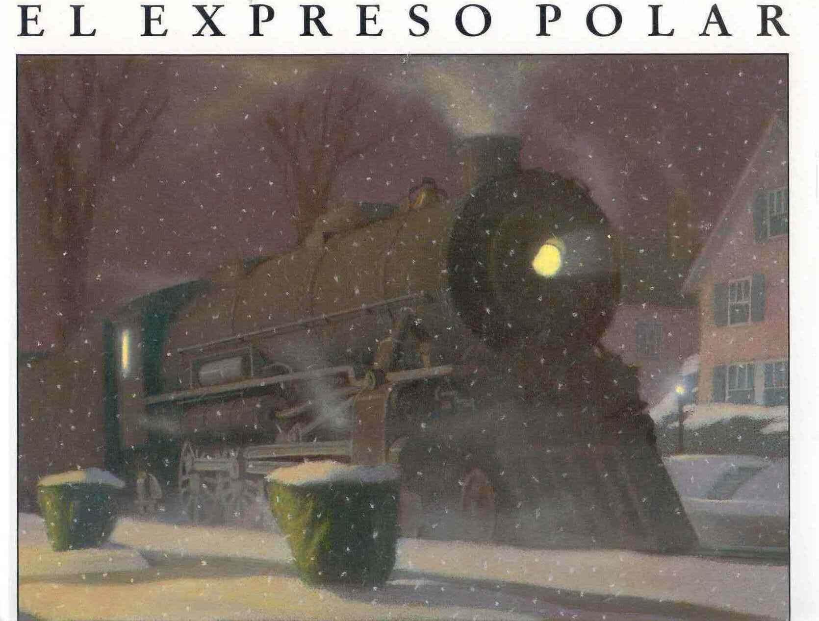 El expreso polar (portada)