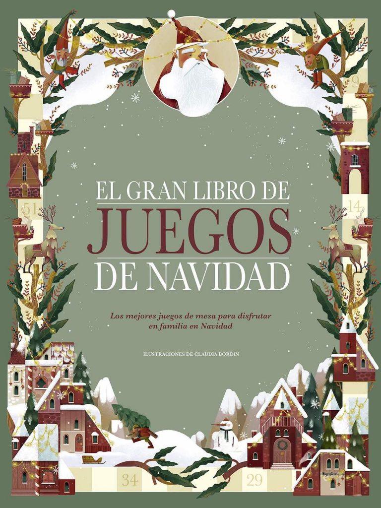 El gran libro de juegos de Navidad (portada)