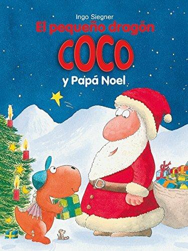 El pequeño dragón Coco y Papá Noel (portada)
