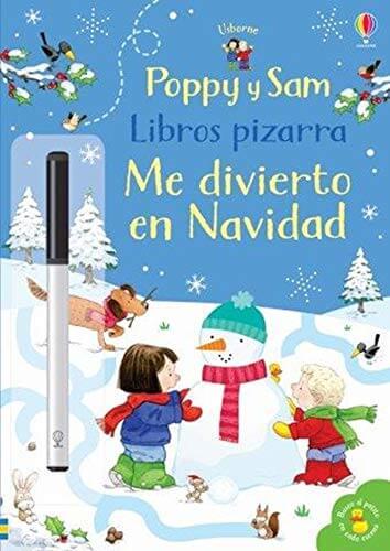Libro pizarra Me divierto en Navidad (portada)