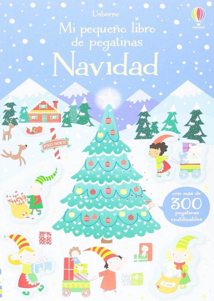 Mi pequeño libro de pegatinas de Navidad (portada)