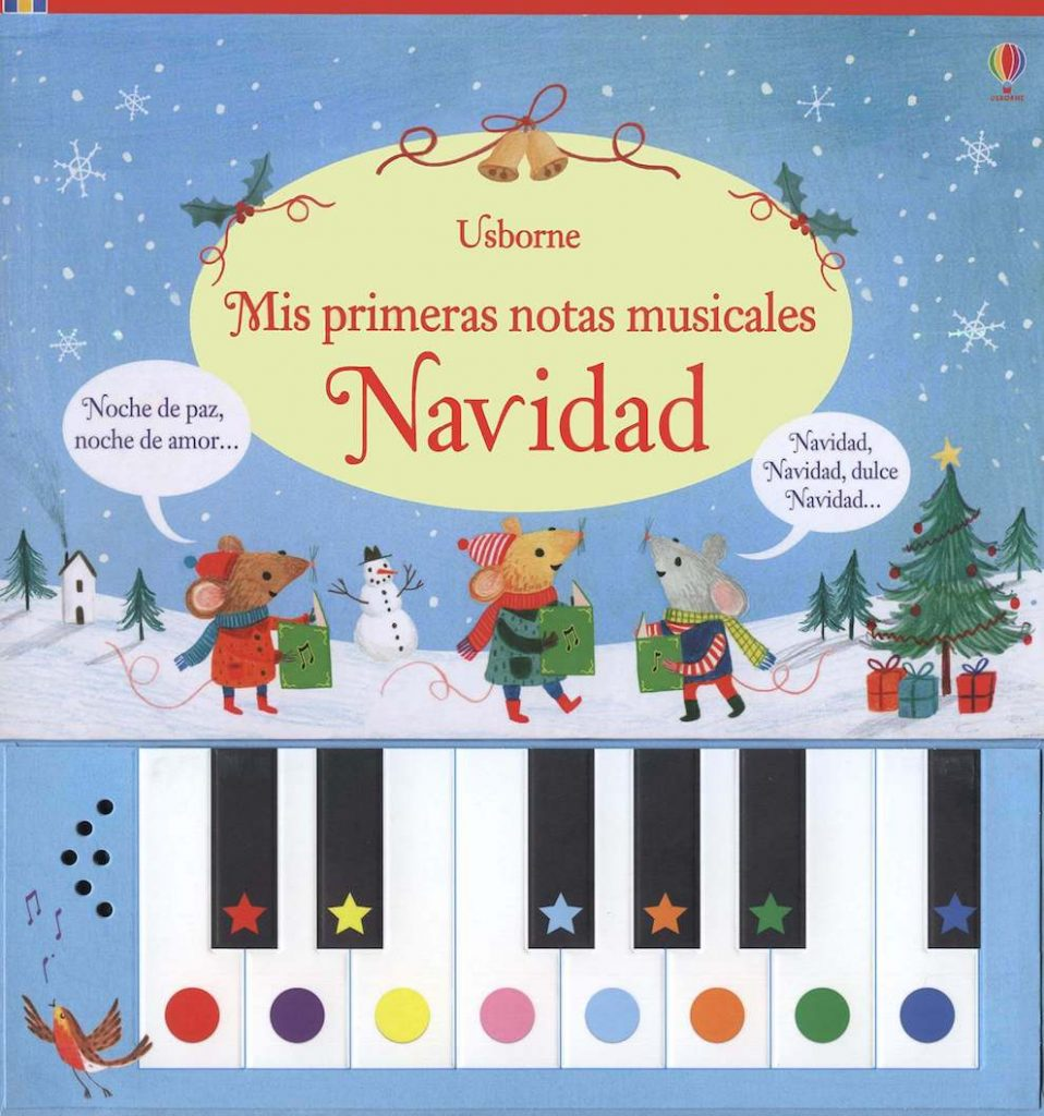 Mis primeras notas musicales Navidad (portada)