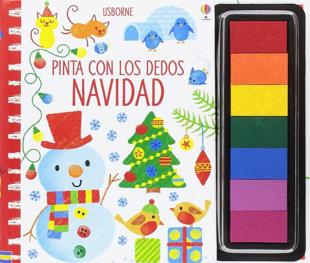Pinta con los dedos Navidad (portada)