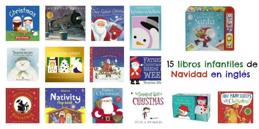15 libros infantiles de Navidad en inglés