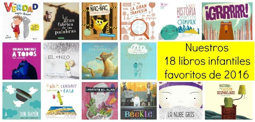 Nuestros 18 libros infantiles favoritos de 2016