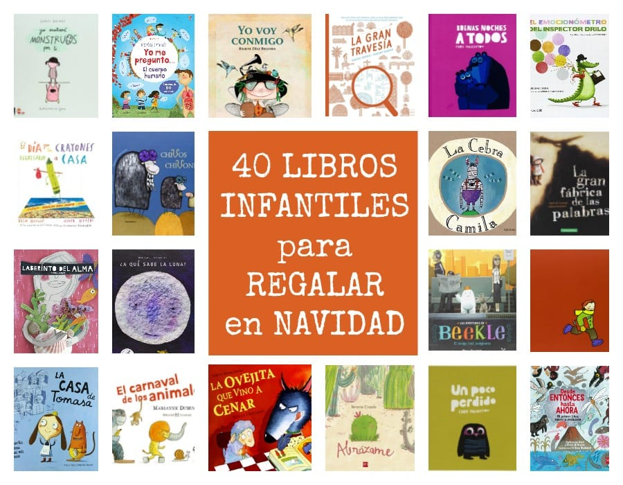 40 libros infantiles para regalar en Navidad